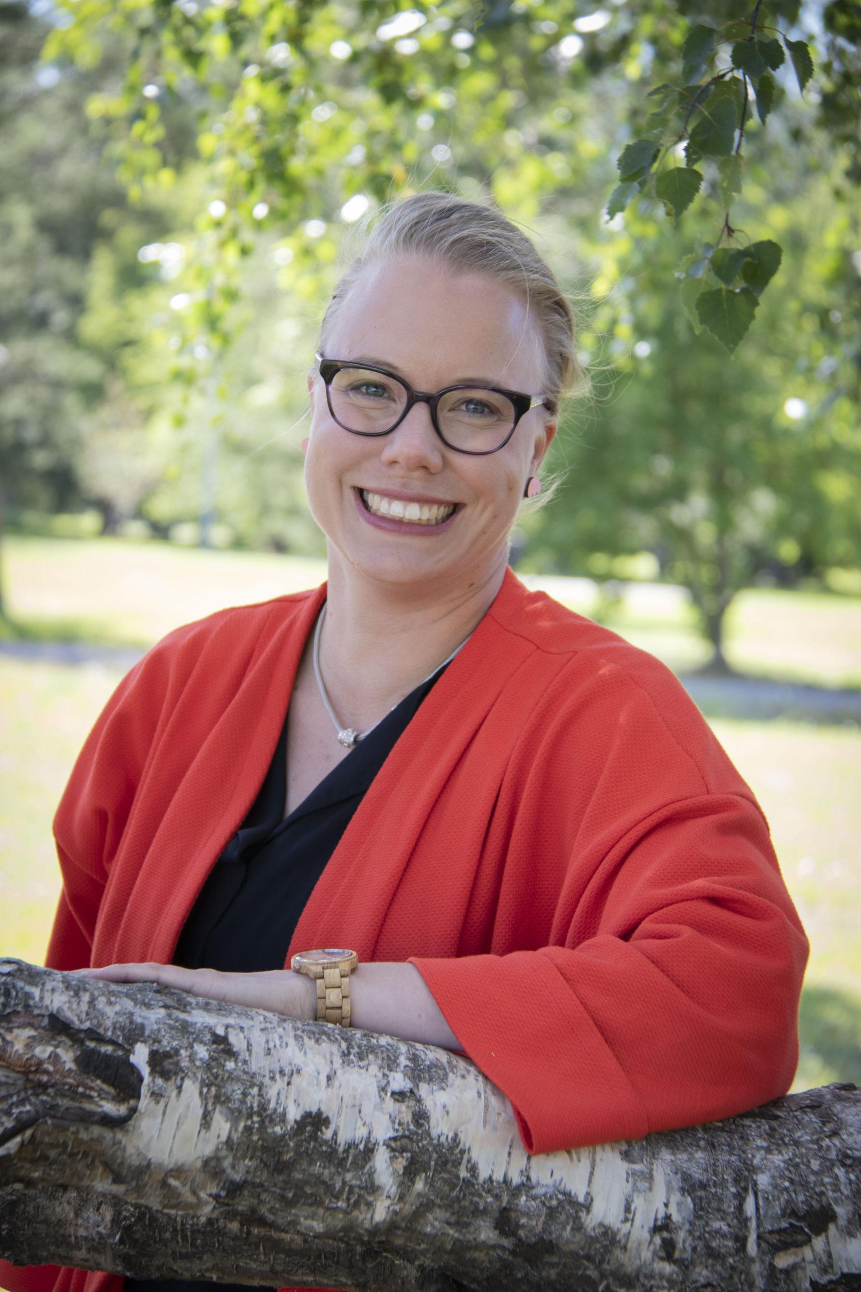 Pikkuduunia-hankkeen projektipäällikkö Kaisa Uusimäki