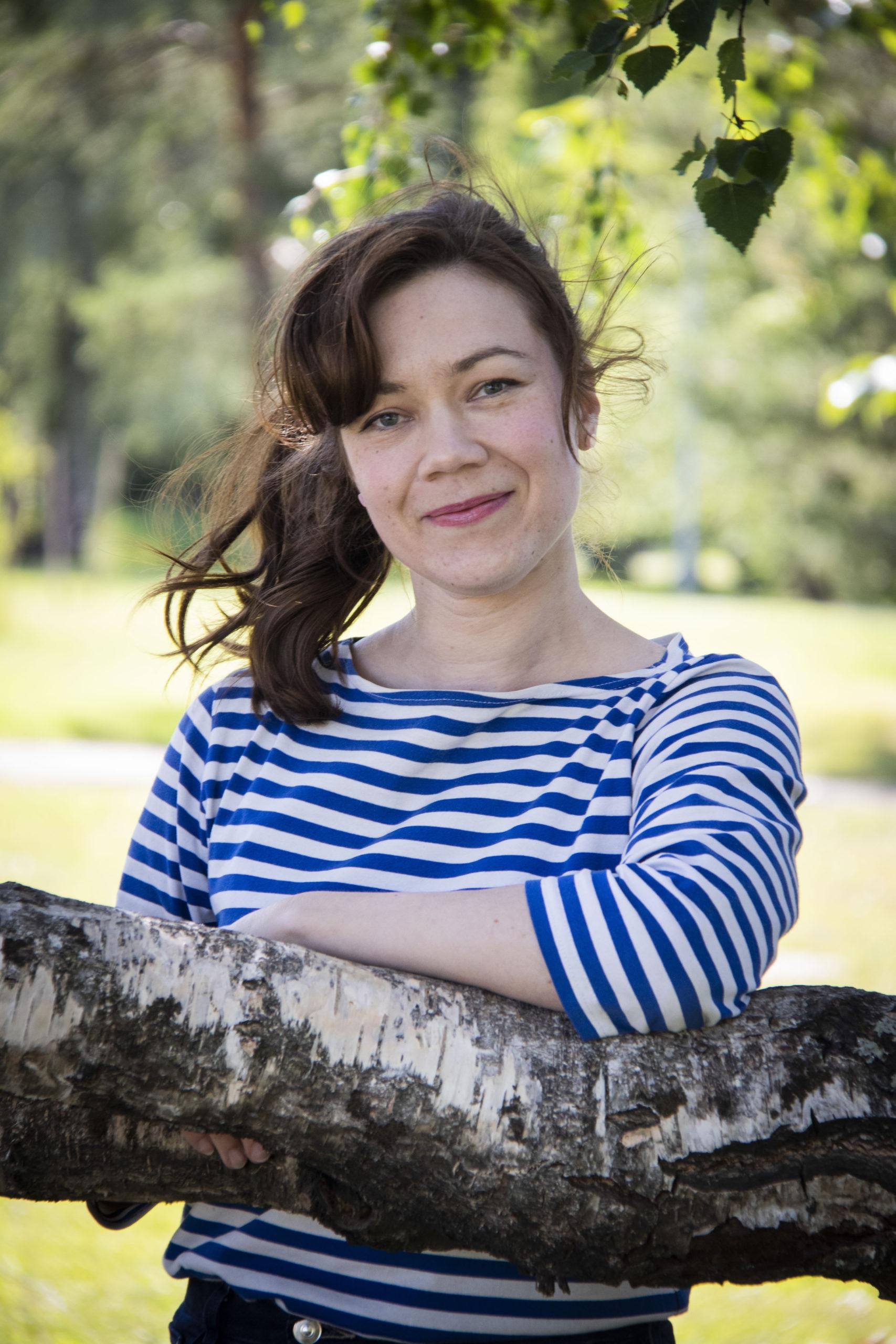 Pikkuduunia-hankkeen projektityöntekijä Johanna Aromaa
