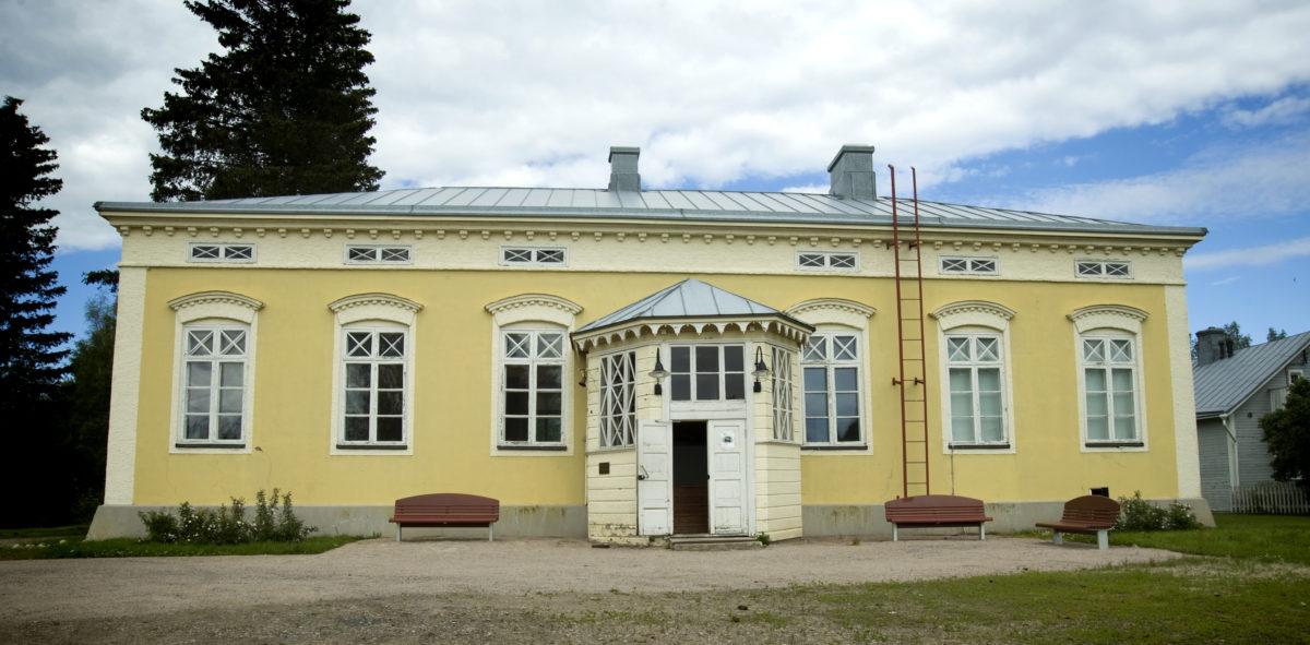 Vanha kivikoulu, jossa sijaitsee Vilho Lampi -museo.
